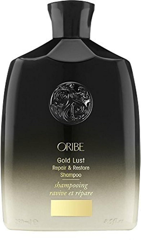 インタフェース予感外出ORIBE Gold Lust Repair & Restore Shampoo 8.5 fl. oz. [並行輸入品]