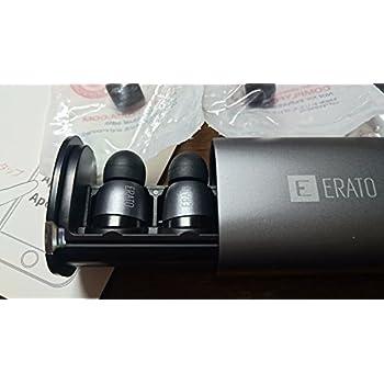 ERATO Apollo7 アポロ 7 Bluetooth イヤホン 完全ワイヤレス [ミスティクグレー]【国内正規品】