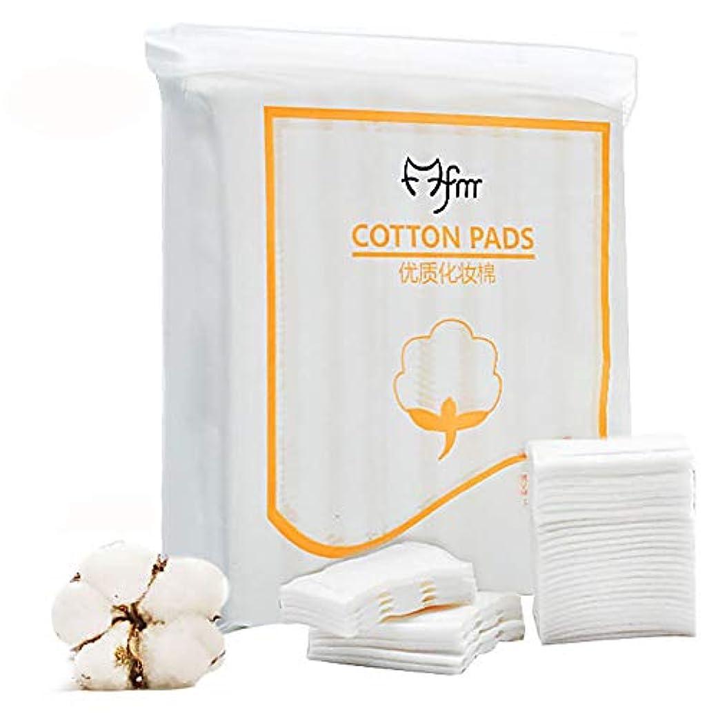 スキル説明的主観的Eripro コットンパフ 化粧綿 ビューティーアップ 化粧用コットン100% お手入れコットン エステ用 業務用 222枚/袋