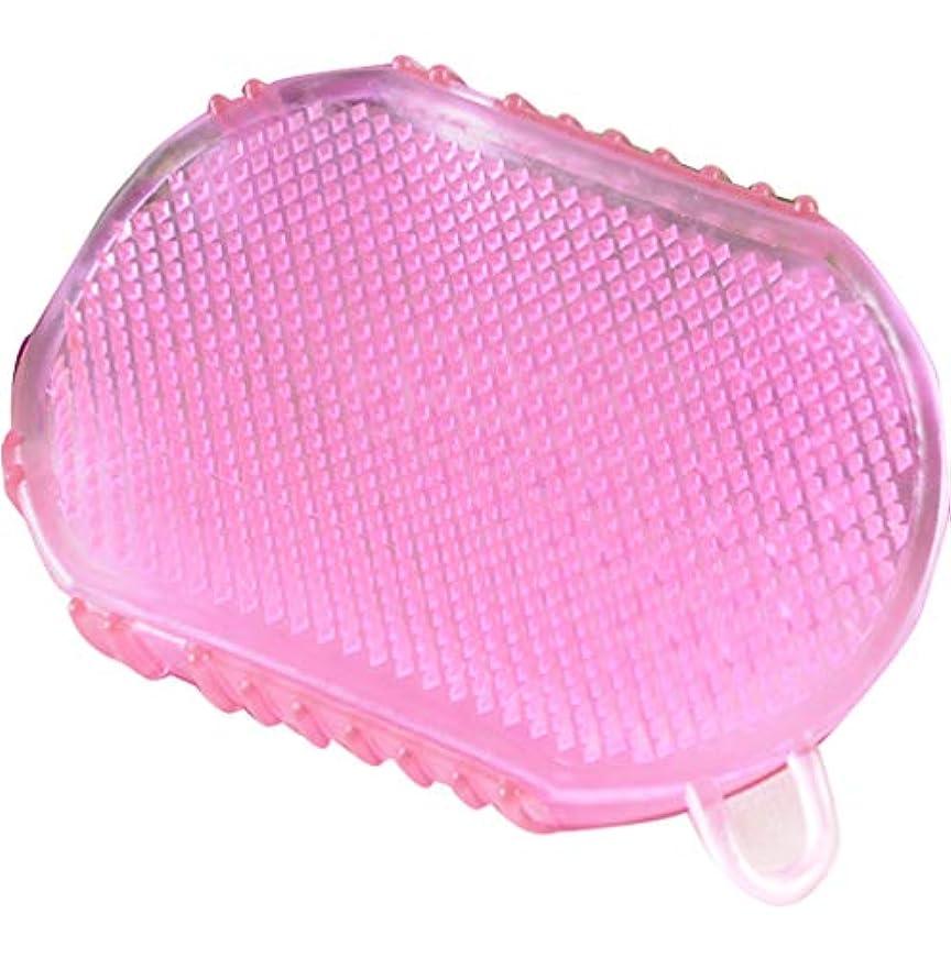 シェーバーの頭の上大通り1Pcs Soft Silicone Massage Scrub Gloves For Peeling Body Bath Brush Exfoliating Gloves Footbrush for the Bath...