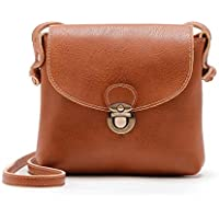 Gillberry Women's Bag Women Lady Leather Purse Satchel Handbag Shoulder Bag Tote (Brown)