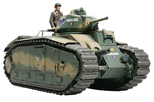 タミヤ 1/35 ミリタリーミニチュアシリーズ No.282 フランス陸軍 戦車 B1 bis プラモデル 35282