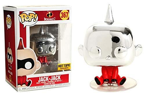 ファンコ ポップ インクレディブル・ファミリー クローム ジャック・ジャック Incredibles 2 - Jack-Jack Chrome Funko Pop!