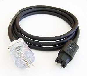 塩田電線 3P電源ケーブル C1011 POWER CABLE 3P/2.0m