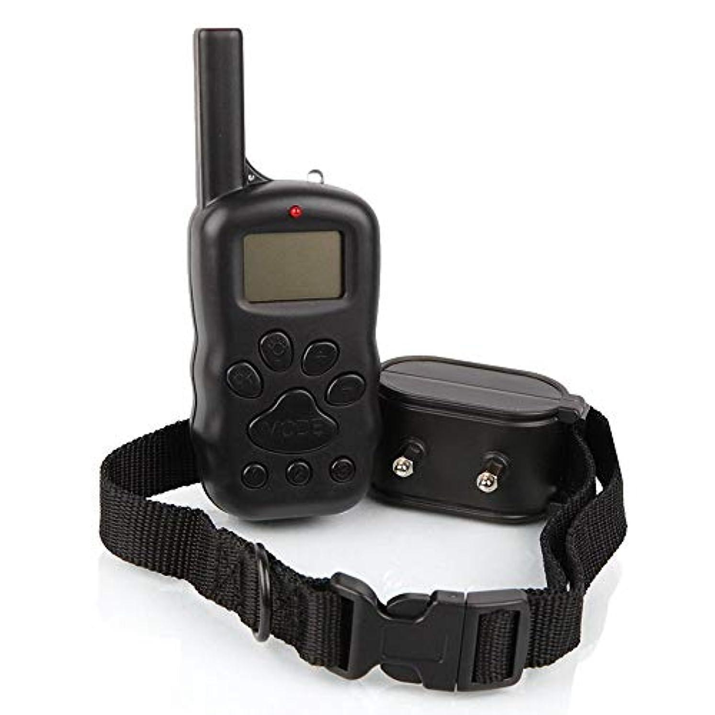 マークダウン休戦酸素Jiabei 300 / Mリモートコントロール犬の自動停止装置犬の訓練ペット樹皮首輪 (色 : As-picture)