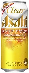 アサヒ クリアアサヒ 500ml缶×24本