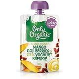 Only Organic Mango Goji Berries & Greek Yoghurt Brekkie Kindy 1-5 Years - 100g
