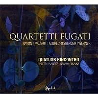 Haydn/ Mozart/ Albrechtsberger/ Werner: String Quartets (2010-01-12)