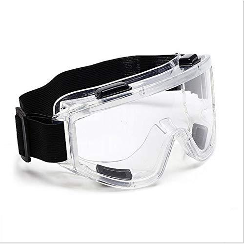 scorel 保護ゴーグル ウィルス/花粉/ハウスダスト/粉塵用のセーフティゴグル 無気孔型 メガネ