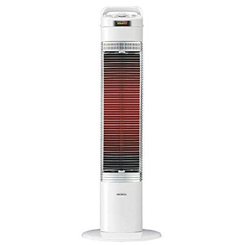 コロナ 電気ストーブ【シーズヒーター】【暖房器具】CORONA コアヒートスリム DH-918R-W