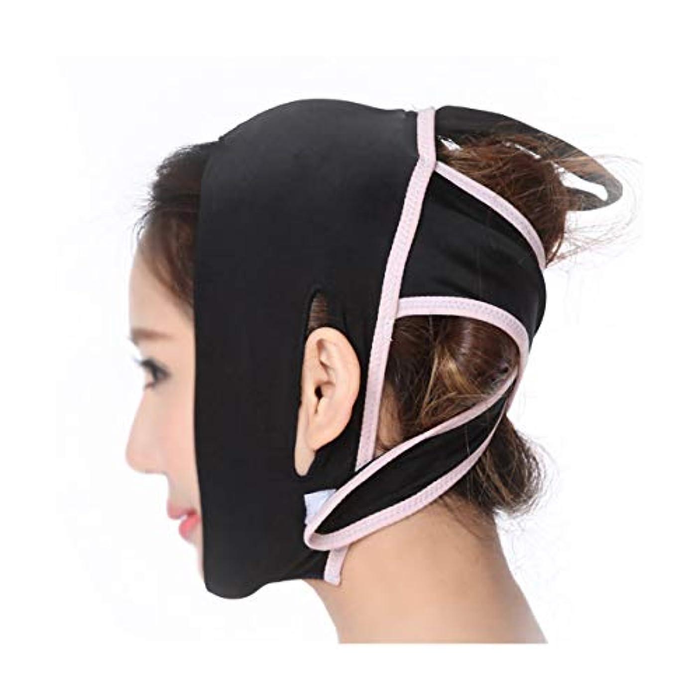 GLJJQMY ファーミングマスク薄い顔薄い顔薄い顔アーティファクト顔薄い顔マスクv顔薄い顔マスク顔薄い顔楽器 顔用整形マスク (Size : S)