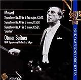 モーツアルト:交響曲第39番、第40番、第41番「ジュピター」