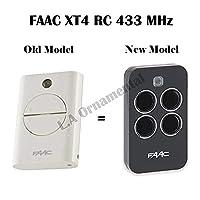 FAAC xt4433RCリモートコントロールゲートKeyfob送信機、433.92MHzローリングコードKeyfob、787452