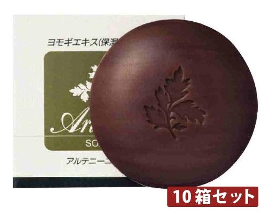 徴収排泄するヒップアルテニーニ石鹸 【10個セット】