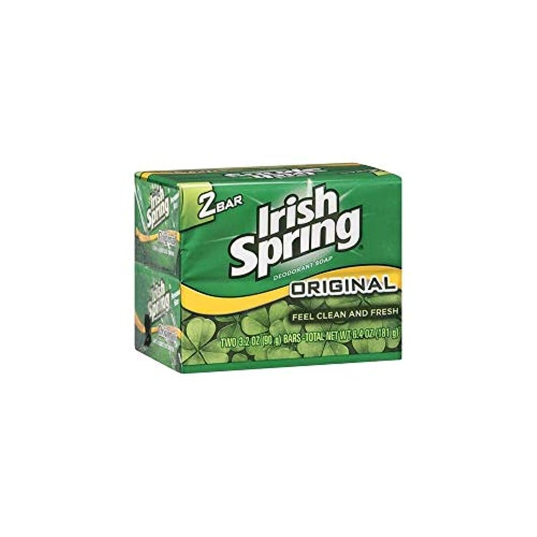 みがきますうまれた静かなIrish Spring 石鹸3.2オズバー 4つのバー