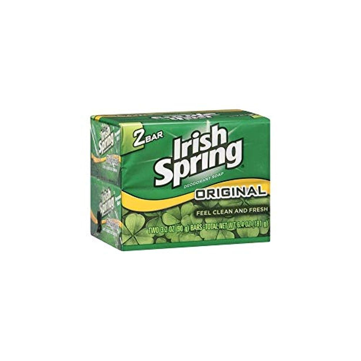 たらい密輸路地Irish Spring 石鹸3.2オズバー 4つのバー
