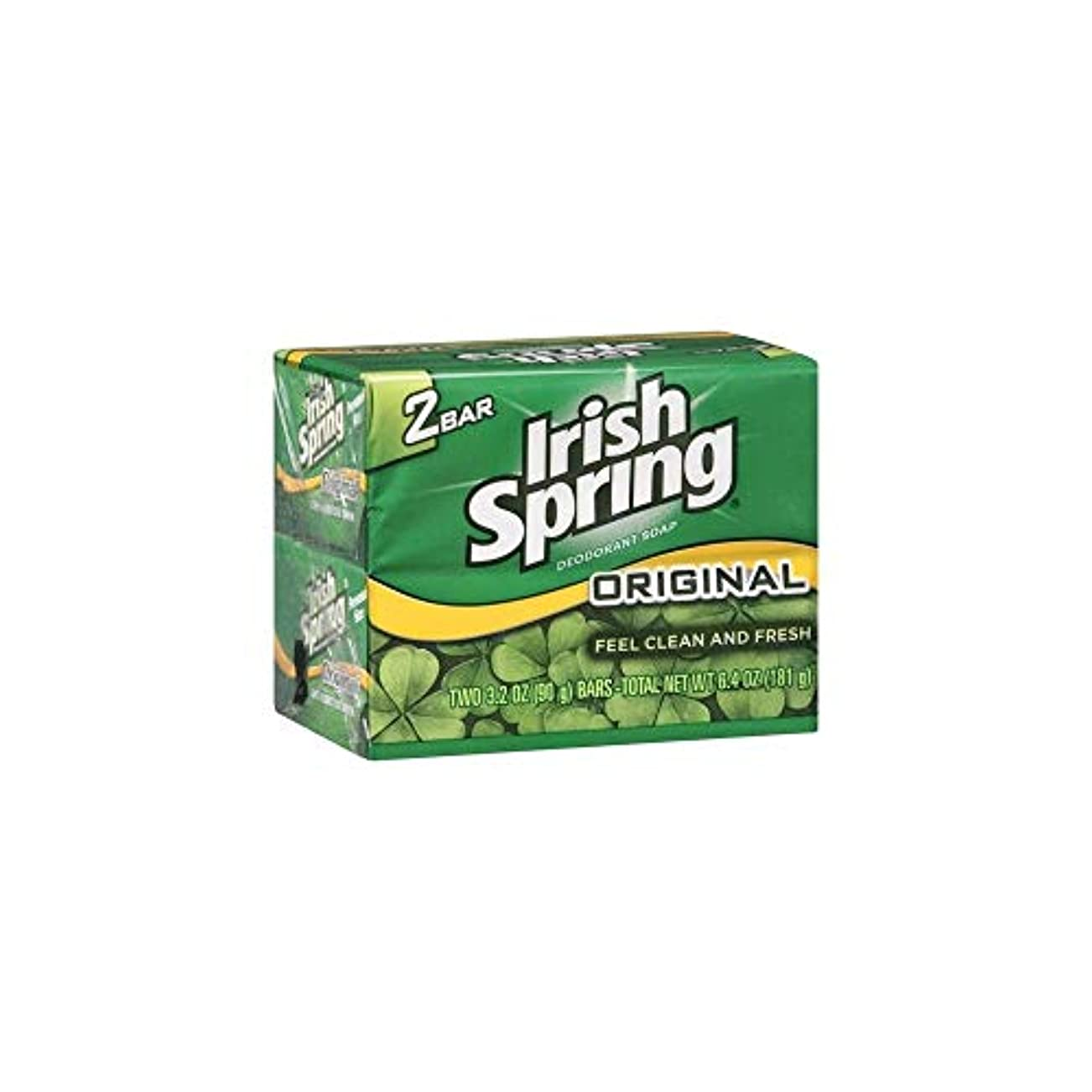 私たち輝度必要Irish Spring 石鹸3.2オズバー 4つのバー