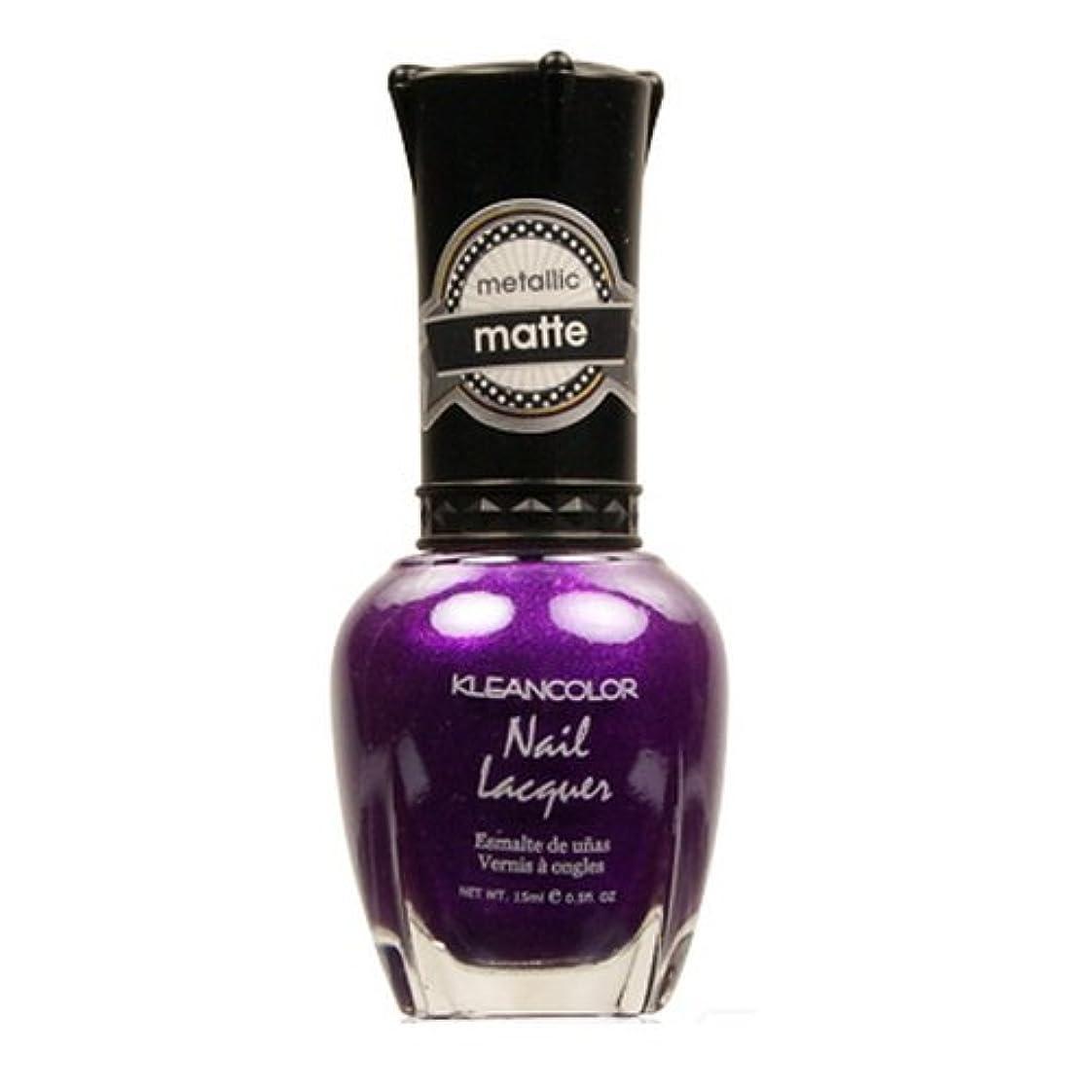 凝視洗剤雪の(6 Pack) KLEANCOLOR Matte Nail Lacquer - Just Like Juliet (並行輸入品)