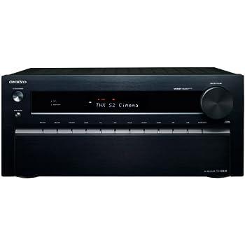 ONKYO AVレシーバー 7.1ch ハイレゾ音源/Dolby Atmos対応 ブラック TX-NR838(B)