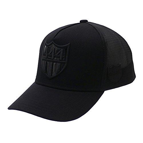 YOSHINORI KOTAKE(ヨシノリコタケ) x BARNEYS NEWYORK 444 LOGO MESH CAP (キャップ) BLACKxBLACK 251-001255-011 【新品】 [並行輸入品]