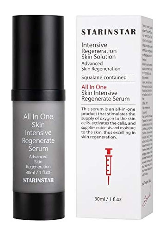 [STARINSTAR] All In One Skin Intensive Regenerate Serum, オールインスキンインテンシブリジェネレートセラム、高度なスキンリジェネレーションソリューション、植物性スクアラン...