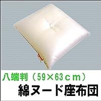 綿座布団(ヌード) 八端判(59×63cm)
