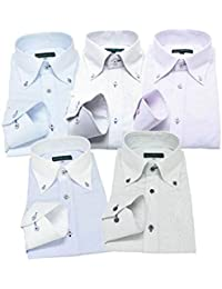 GREENWICH POLO CLUB(グリニッジポロクラブ) 長袖ワイシャツ 5枚セット メンズ pc 333-L