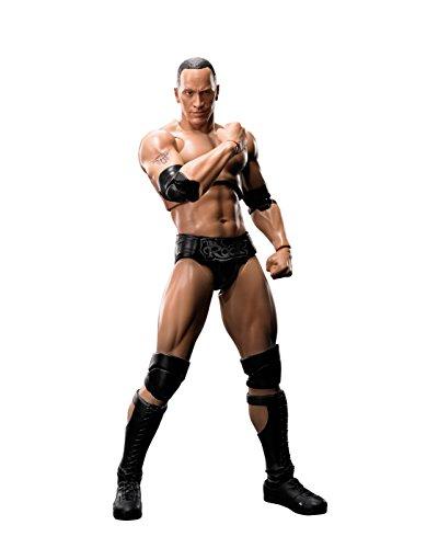 S.H.피규어아츠 WWE 더・록(The Rock) 약160mm PVC&ABS제 가동 피규어-BAN09452 (2016-12-29)