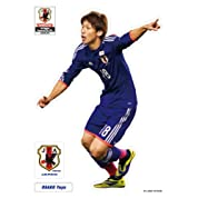 サッカー日本代表チームモデル きゃらぺた 大迫勇也 S