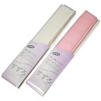 和装すずろこしひも メッシュベルト+腰紐 ピンク・白 着くずれ防止 (ピンク)