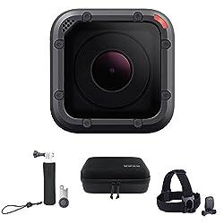 【国内正規品】 GoPro ウェアラブルカメラ HERO5 Session + アクセサリーケース他2点セット