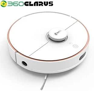 ロボット掃除機 360 CLARUS S7 AI レーザーナビゲーション 水拭き搭載 2200Pa 静音 最大稼働面積180m2 衝突&落下防止 自動充電