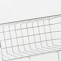 Xixi-colk ステンレス製シンクドレンラック 食器洗い用のぼろ収納バスケットラック 収納 ワイヤ バスケット キッチン用