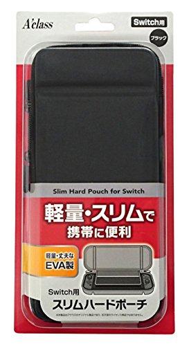 Switch用スリムハードポーチ ブラック
