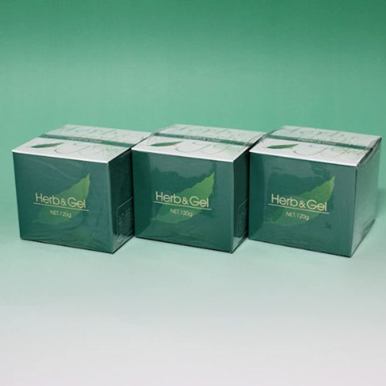 魚不公平生まれハーブアンドゲル 天然ハーブエキス配合 120g×3瓶セット (4580109490026)