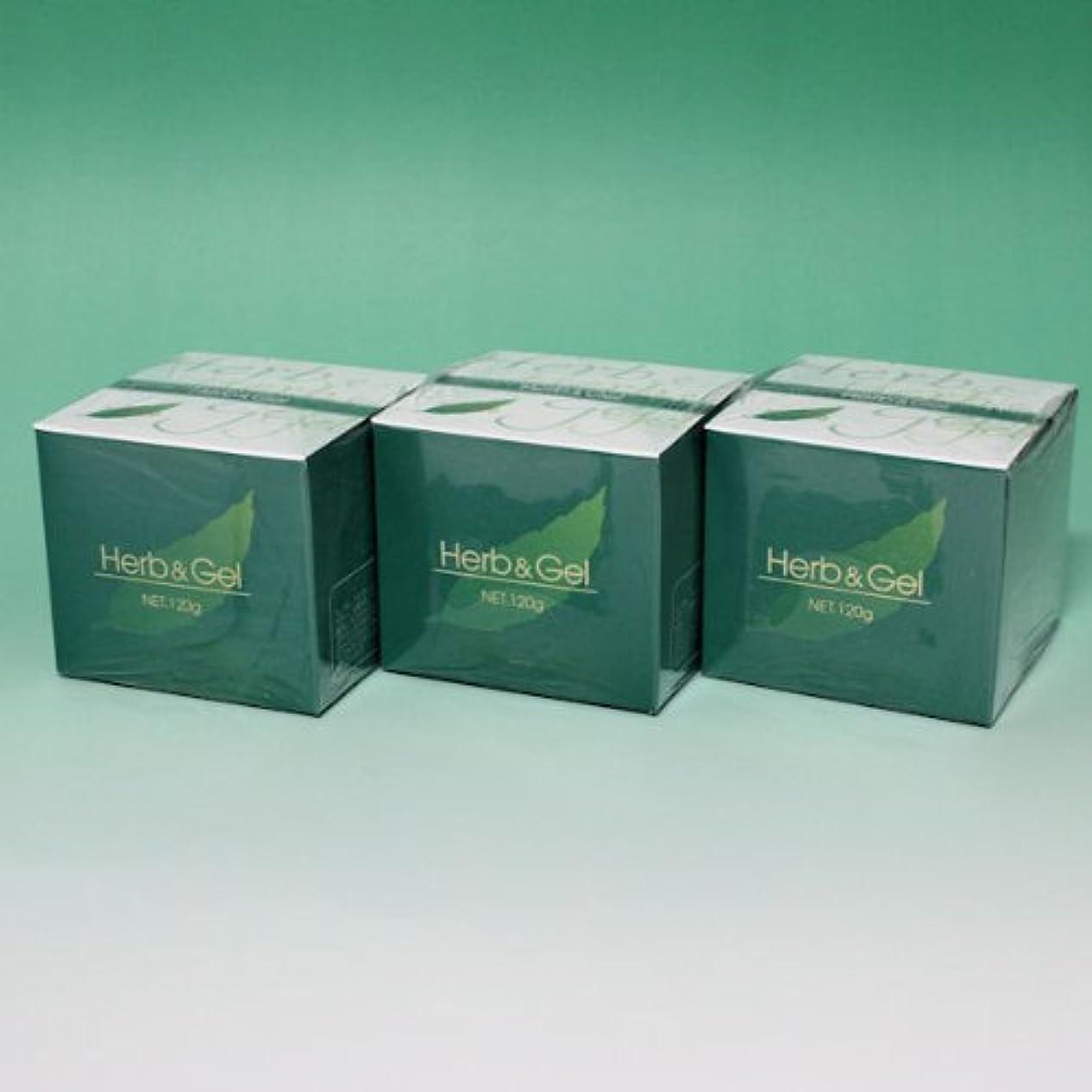 カウンターパート準拠教義ハーブアンドゲル 天然ハーブエキス配合 120g×3瓶セット (4580109490026)
