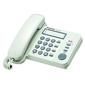 パナソニック 電話機 親機のみ ホワイト VE-F04-W