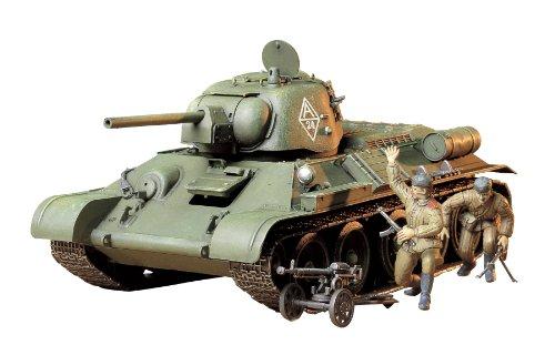 タミヤ 1/35 ミリタリーミニチュアシリーズ No.149 ソビエト陸軍 T34/76 戦車 1943年型 チェリヤビンスク プラモデル 35149