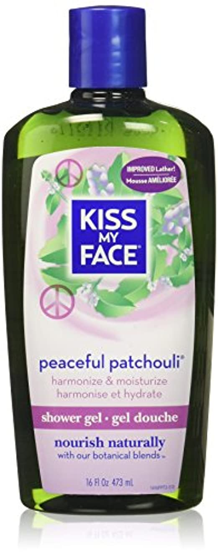 発信スプーンパテ海外直送品Kiss My Face Bath & Shower Gel Peaceful Patchouli, 16 Oz