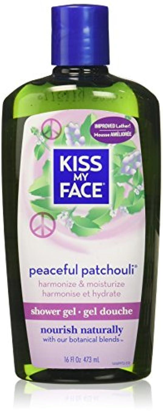 パラシュートリーガンとても多くの海外直送品Kiss My Face Bath & Shower Gel Peaceful Patchouli, 16 Oz