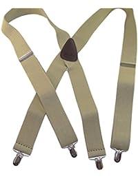 Hold-Up Suspender Co. ACCESSORY メンズ US サイズ: XL -54 inch.XX large カラー: ベージュ