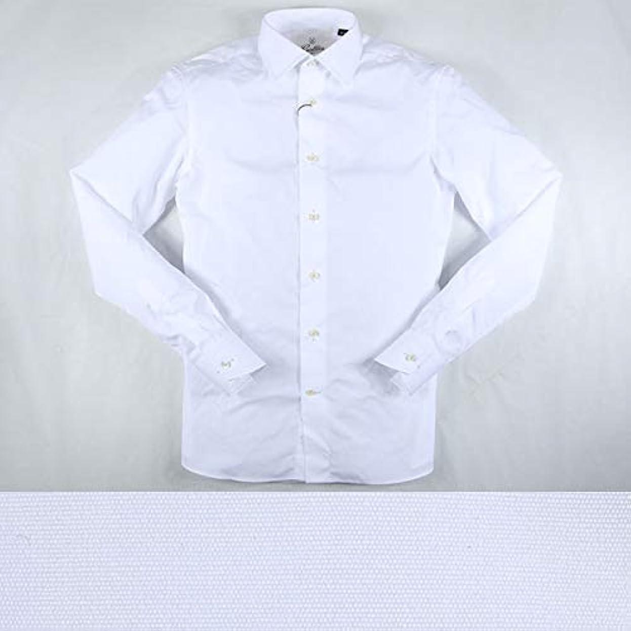 時短くするすぐにGallia 長袖シャツ GA0082 white 43 11953【A11958】 ガリア [並行輸入品]
