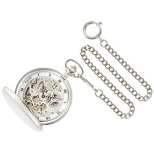 [ティモール]TIMOR 懐中時計 ポケットウォッチ ダブルハンター 手巻き TP102CH01 【正規輸入品】