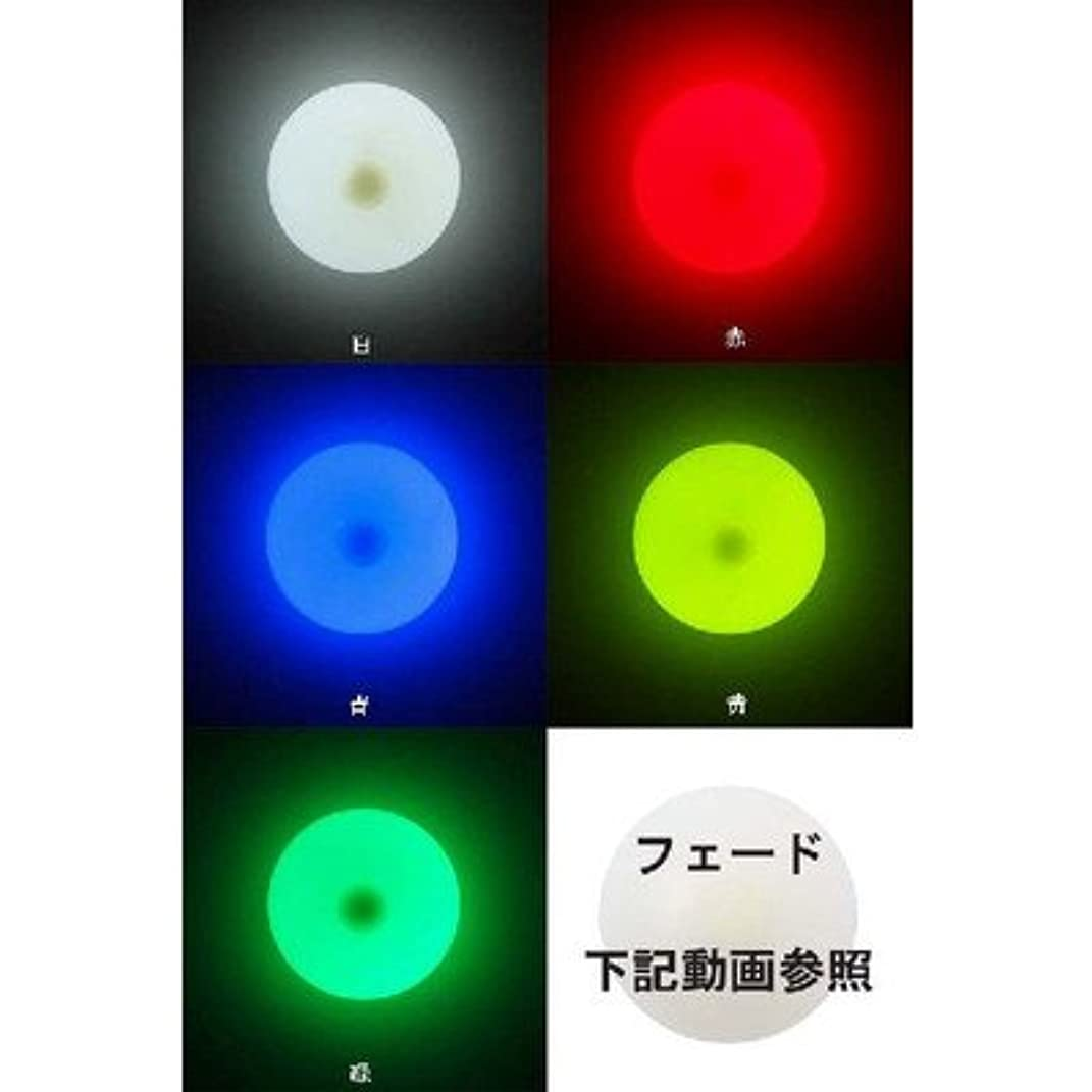 絶望カメ絡まるライトアップ ハードコンタクトボール 76mm A-19156 色:フェード