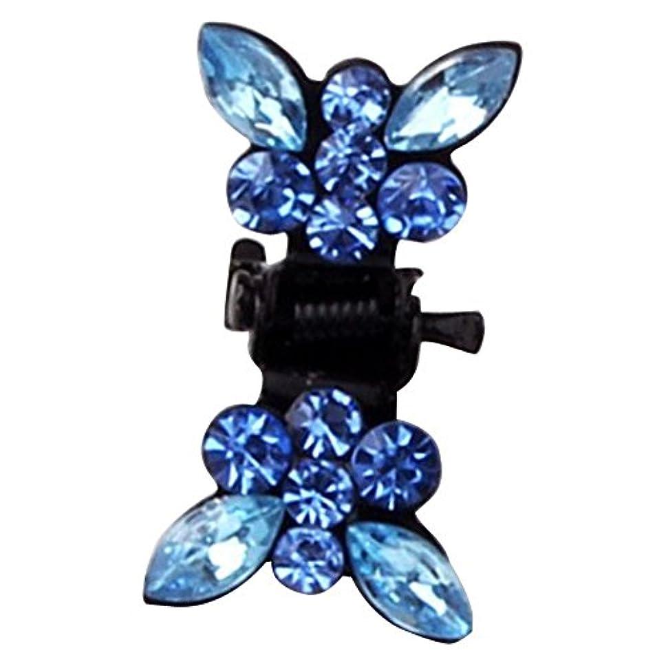 組み合わせ崇拝する世代Merssavo キッズガールベビー幼児の弓クリスタルヘアクリップヘアピンアクセサリーヘッドウェア8#