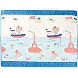Netease Kaola Factory Children's XPE Game Pad | Carpet Game pad Kids | Game Playmat (Bear Puts to sea and Sweet Cloud)