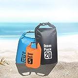 VI-CO バッグ3点セット - 軽量防水ドライバッグ 5L/10L/30L ロールトップサック ギアをドライに保ちます カヤック ラフティング ボート 水泳 キャンプ ハイキング ビーチ 釣り