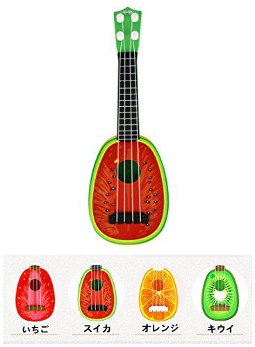 ミニ果物ギター ウクレレ おもちゃ 子ども 幼児 ベビーフル...