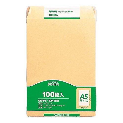 マルアイ クラフト封筒 角6 85g 100枚入 PK-168 00019743 【まとめ買い3セット】