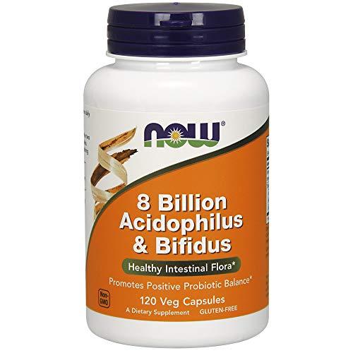 アシドフィルス&ビフィズス菌 80億 120カプセル  海外直送品